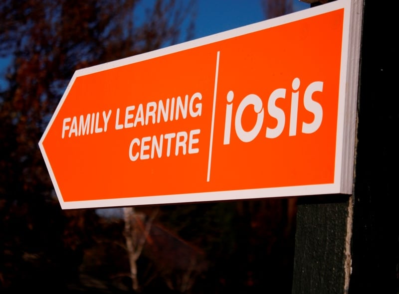 Family Learning Centre sign